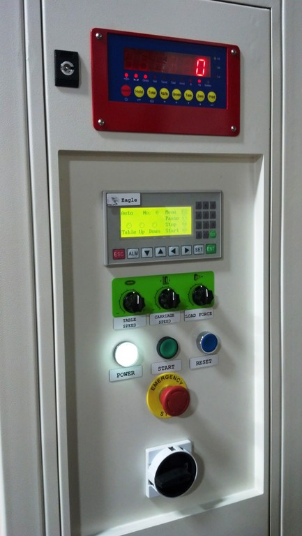 2000 Scale Option Control Panel