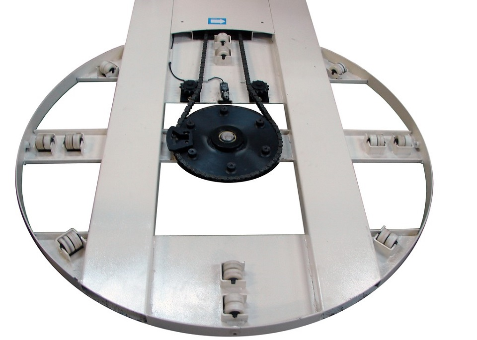 Eagle 2000ebt Semi Automatic Stretch Wrap Machine With