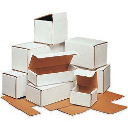 White Tuck Top Mailer Boxes